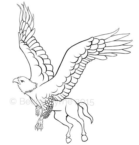 hippogriff coloring page hippogriff colouring page by mydoodlesbecca on deviantart