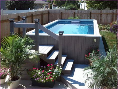 Pool Ideas For Small Backyard Above Ground Pool Ideas For Small Backyard Backyard Design Ideas