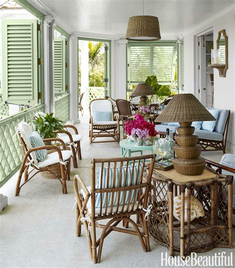 Veranda Outdoor Furniture by Rattan Bamboo Accent Furniture Classic Trending