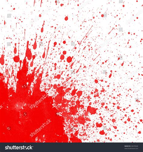 bloodstain pattern photography blood splatter corner image stock illustration 38478340