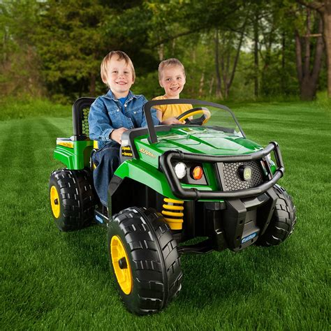 gator power wheels amazon com peg perego deere gator xuv green toys