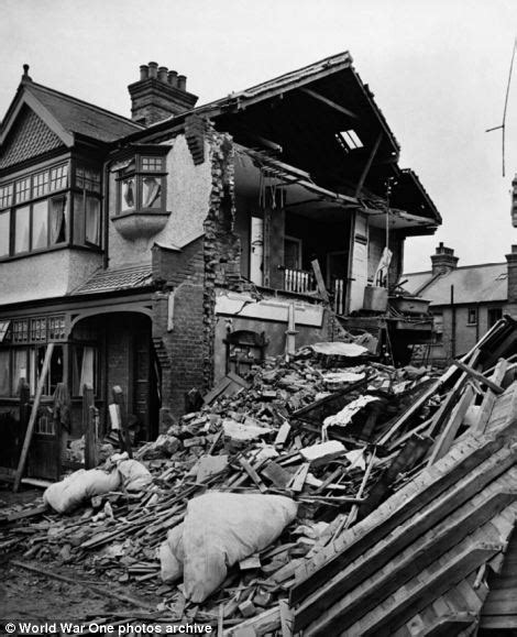 Britain s first blitz german zeppelin bombardment during the first
