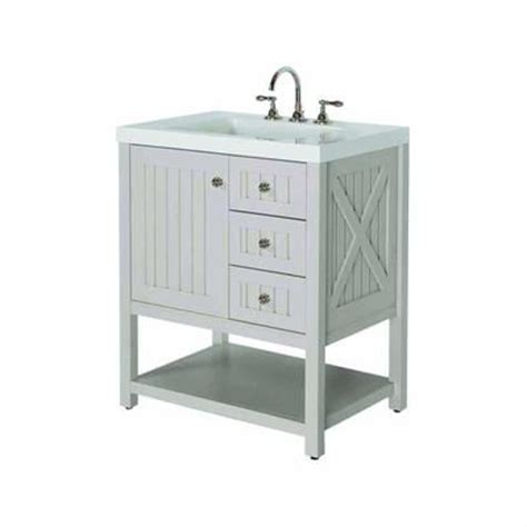 Home Depot Bathroom Vanities Canada by Martha Stewart Living Seal Harbor Ensemble Meuble Lavabo Sl30p2c Sg Home Depot Canada