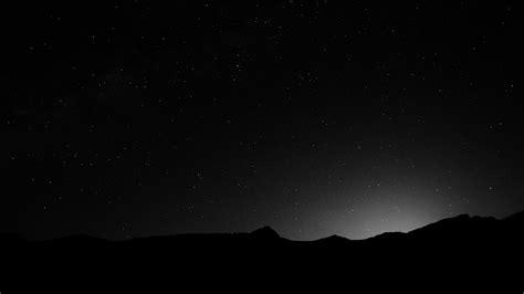 sky wallpaper black and white 4k night sky wallpaper wallpapersafari