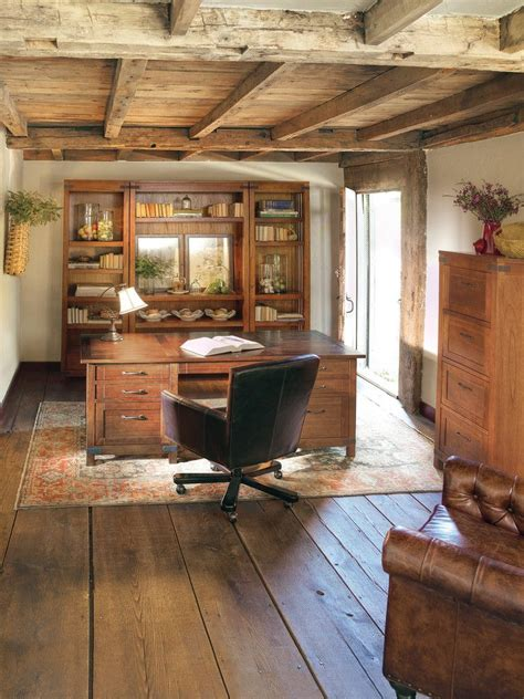 awesome rustic home office designs rustic home