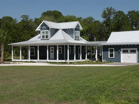Metal Building House Plans With Wrap Around Porches | country ranch home w wrap around porch hq plans