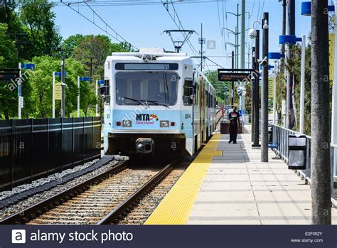 when the road with a light rail vehicle you baltimore light rail bwi to hunt valley