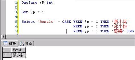 case transact sql plsql t sql plsql 有 decode ms sql 有 case when 張小呆的碎碎