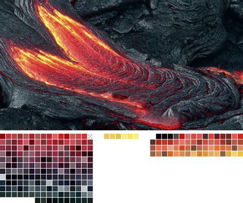 what color is lava gif colors nature lava transparent color palette