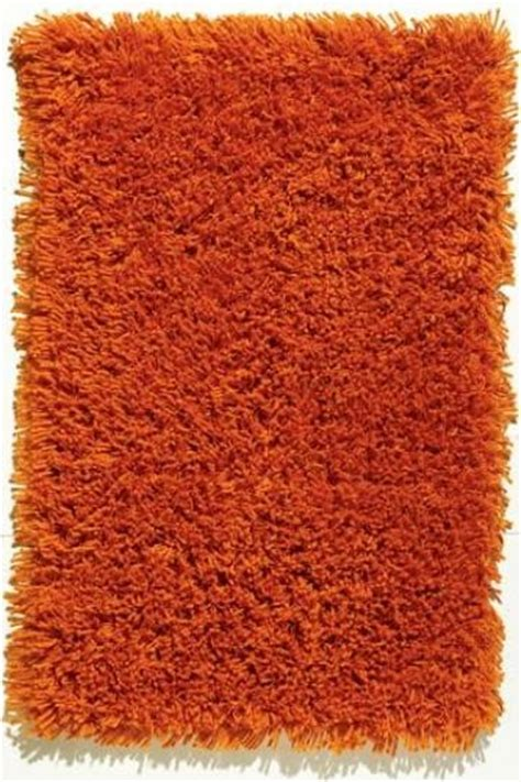 shaggy orange rug ultimate shag rug orange modern rugs by home decorators collection