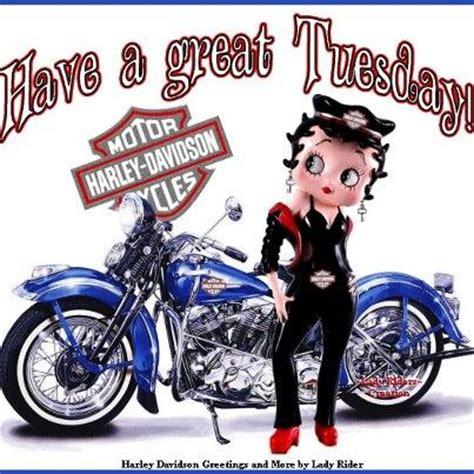 betty boop & her harley davidson bikergeo