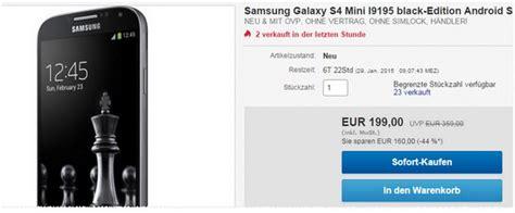 S4 Kaufen Ohne Vertrag 1947 by Samsung Galaxy S4 Mini G 252 Nstig Als Neuware Unter 150