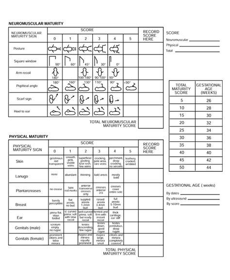 nas score postnatal scoring systems nicu toolbox