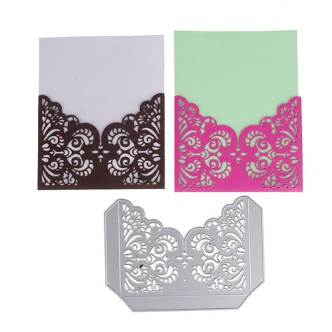 hanging die cut bead card template envelope border metal dies cut album decoration scrapbook