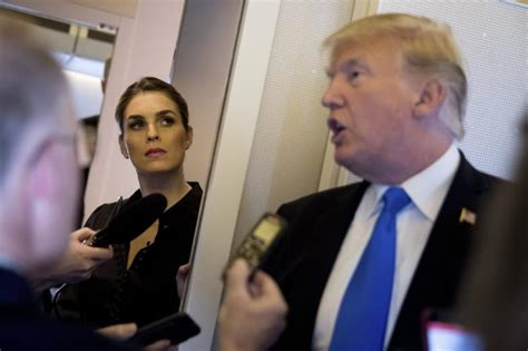 hope hicks golf trump spokesman to share concerns about hope hicks with
