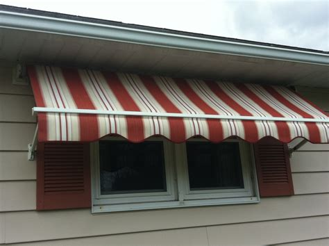 Fabric Awnings For Windows by Window Awnings In Ma Retractable And Stationary