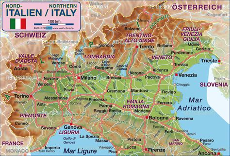 map of northern italy map of northern italy italy map in the atlas of the world world atlas