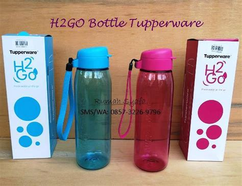 Botol Air Tupperware 750ml botol minum tupperware rumah syafa