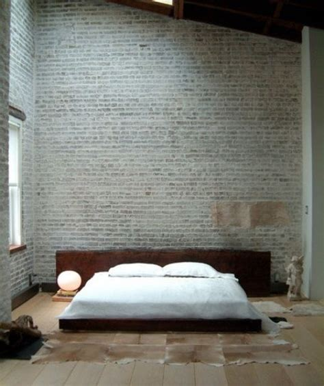brick wall in bedroom bedroom with brick walls places spaces pinterest