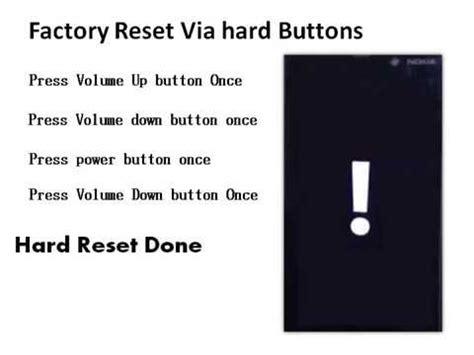resetting a nokia lumia 530 nokia lumia 530 hard factory reset forgot password