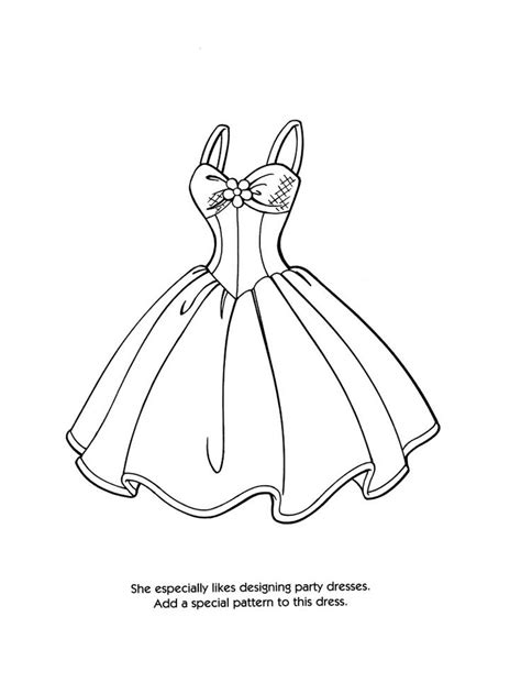 coloring pages of barbie clothes i thought you guys might enjoy this xoxo all fashion