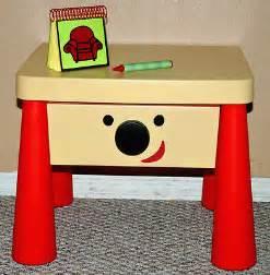 blue s clues side table drawer steve s handy dandy