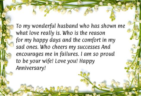 wedding anniversary message for my happy anniversary message for husband