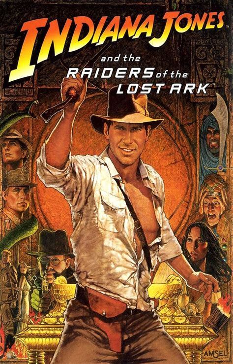 film petualangan indiana jones raiders of the lost ark movie poster indiana jones temple