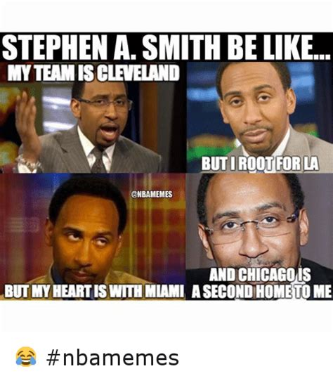 Stephen A Smith Memes - stephen a smith be like nbamemes basketball meme on sizzle