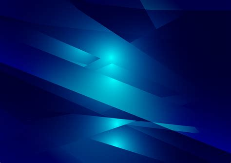 blue color geometric gradient illustration graphic vector