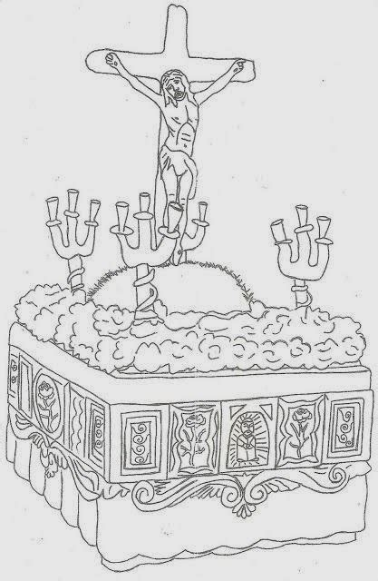 dibujos infantiles para colorear semana santa maestra de infantil dibujos para colorear en semana santa