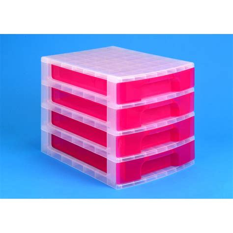 staples drawer organizer uk really useful box 4 x 5 l drawer unit pink staples 174