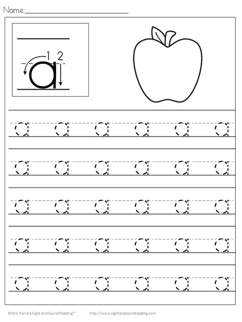 printable handwriting worksheets for kindergarten preschool handwriting worksheets free practice pages