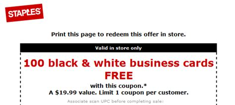 Staples Gift Card Discount - staples business cards coupon sxmrhino com