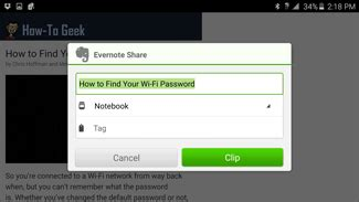 evernote web clipper android how to send web pages from your smartphone or tablet to evernote