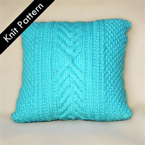 Knit Pillow Pattern by Knit Pillow Patterns Pattern Collections