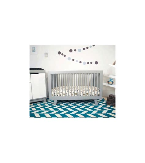 Hudson 3 In 1 Convertible Crib Babyletto Hudson 3 In 1 Convertible Crib With Toddler Bed Conversion Kit In Grey Finish