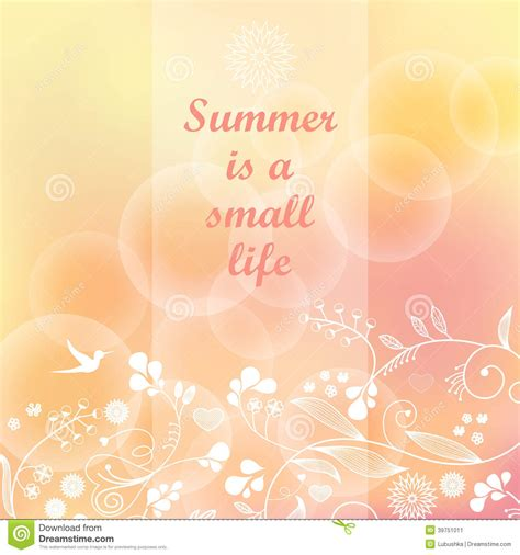 pastel color card templates summer background stock illustration illustration of