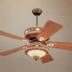 western ceiling fans 52 quot monte carlo durango western ceiling fan