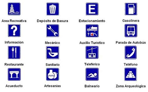 imagenes de simbolos informativos simbolos viales y su significado imagui