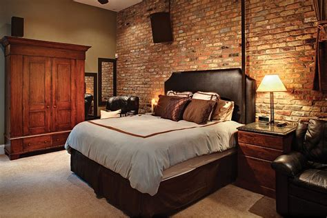 original bedroom 50 delightful and cozy bedrooms with brick walls