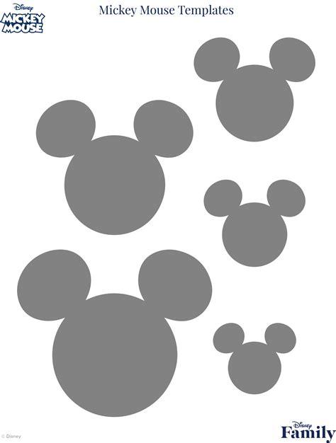 free mickey mouse template mickey mouse template disney family