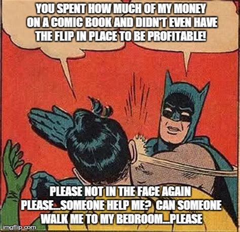 Batman Robin Meme - batman slapping robin meme imgflip