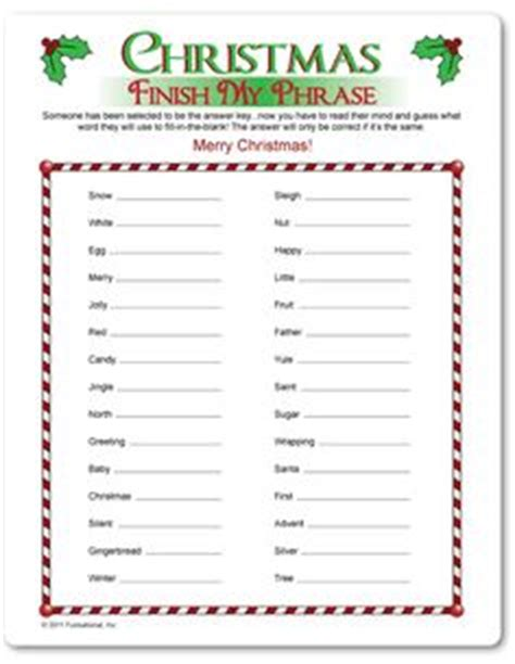 printable christmas riddle games 1000 images about christmas games on pinterest