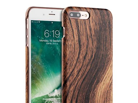 iphone 7 plus woody patterned back