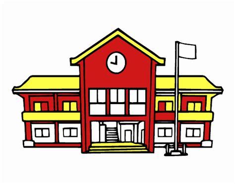 imagenes animadas de una escuela dibujo de escuela pintado por en dibujos net el d 237 a 05 10