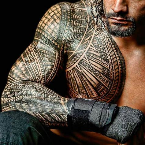 roman reigns tattoo tribal reigns this is my yard