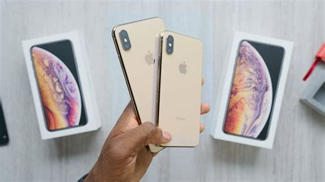 gold iphone xs max unboxing youtube