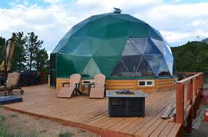 geodesic dome tiny house swoon