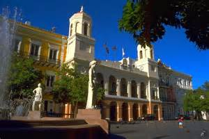 San juan ayuntamiento de san juan city hall and plaza de armas jpg